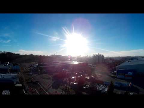 Christchurch Skyline Time-lapse Raw Footage (Creative Commons - Attribution)