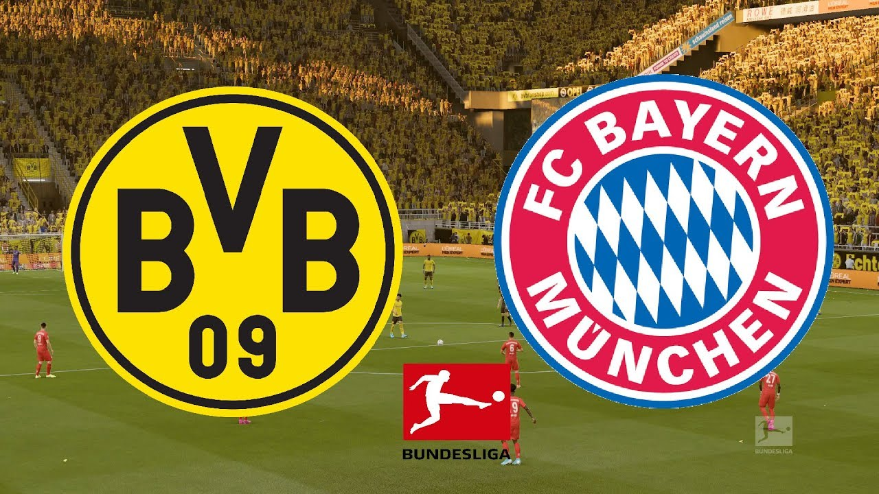 Bundesliga 2019 20 Borussia Dortmund Vs Bayern Munich 26 05 20 Fifa 20 Youtube