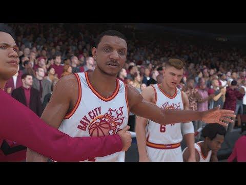 NBA 2K20 My Career EP 1 - Creation & 1st Game!