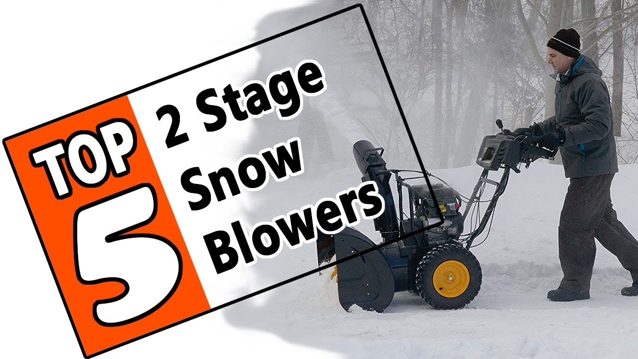 Here Is The Best 2 Stage Snow Blower Under 1000 Youtube