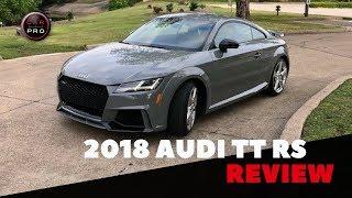 2018 Audi TT RS Test Drive
