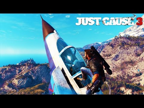 Just Cause 3 - Flying Jets & Bombers !!! ep. 9 - JC3 Let's Play & Funny Moments!