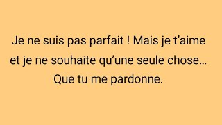 Sms d'amours excuse mon amour  bon week end humour!💕