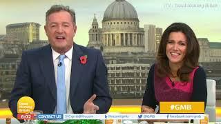Piers Morgan pokes fun at Susanna Reid after news of new boyfriend