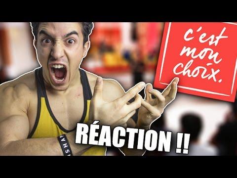 RÉACTION C'EST MON CHOIX !!