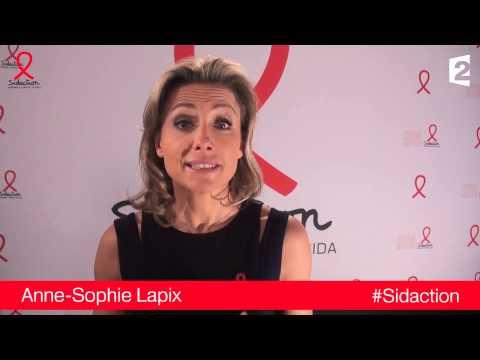 Anne-Sophie Lapix - Sidaction 2014 - Protégez-vous