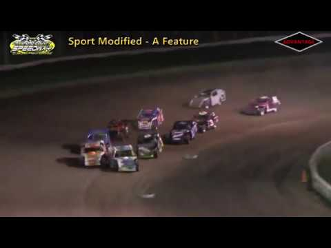 Sport Modified Feature - Crawford County Speedway - 5/11/18