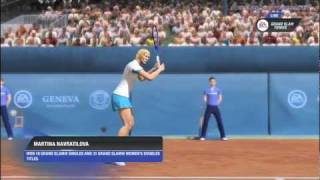 SportsGamerShow - Grand Slam Tennis 2 Review