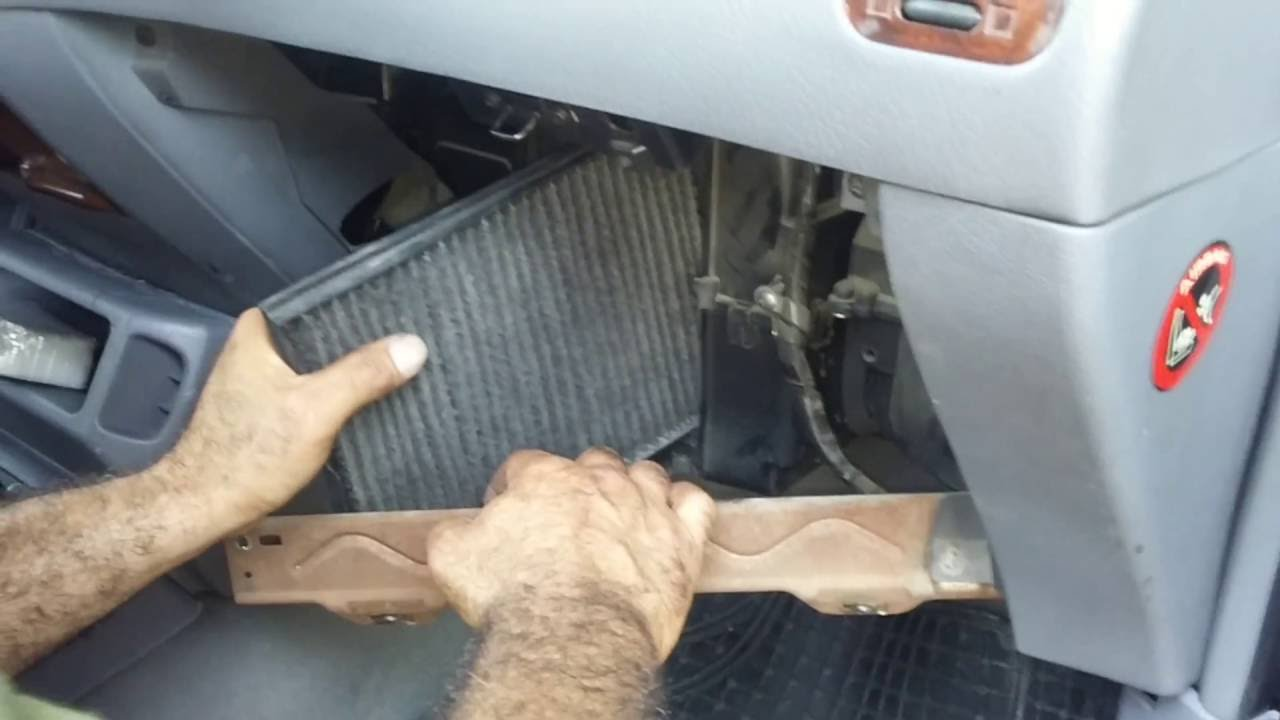 1998 Nissan Terrano Ii Air Conditioning Pollen Filter