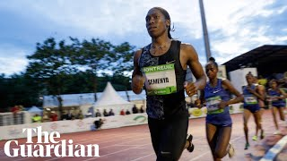 Caster Semenya wins 2,000m race: 'I can run any event I want'