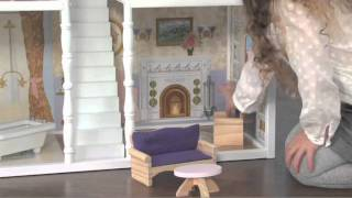"Children's Wooden ""savannah Dollhouse"" - Item 65023"
