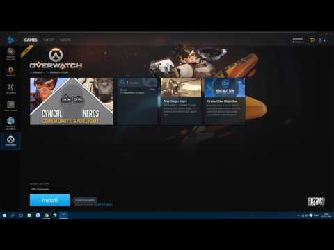 How To: Join PTR in Overwatch (Public Test Region)