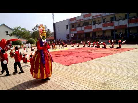 Exercise drill with music Santu & Barnali