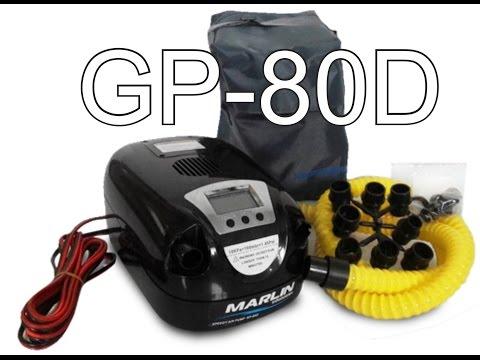 Насос - компрессор для накачивания лодки  GP-80D меня устраивает!