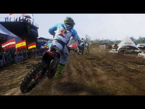 MXGP 3 - The Official Motocross Videogame - Lommel | Belgium MXGP Gameplay (PS4 HD) [1080p60FPS]