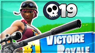 THE SNIPER ON AIME CA ON FORTNITE BATTLE ROYALE