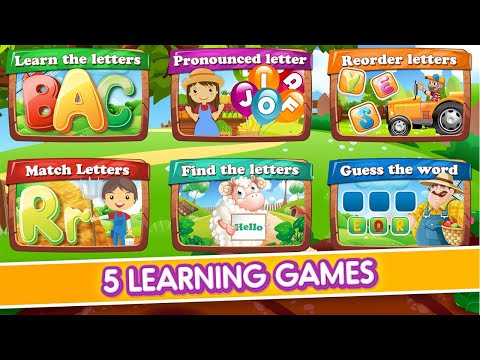 ABC Trace Game-Kids Education,preschool Learning Game Kids Abc Tracing,alphabets And Numbers Game