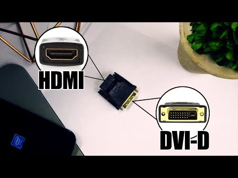 DVI-D To HDMI Adapter Work?!