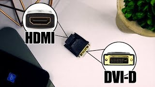 Does a DVI-D to HDMI Adapter Work!?