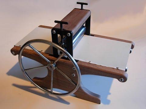 Mini Etching Press Inspiration