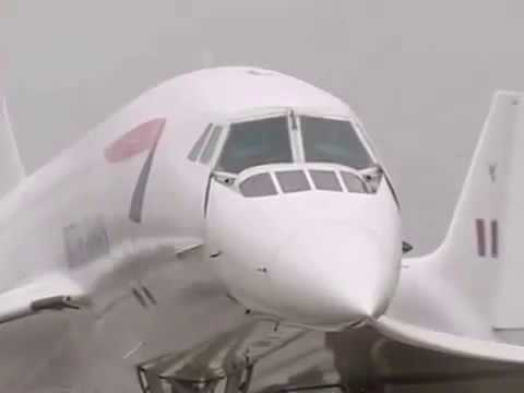 concorde fastest plane on the earth with speed 2179 kmh demonstratio