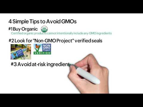 4 Easy Ways to Avoid Dangerous GMOs