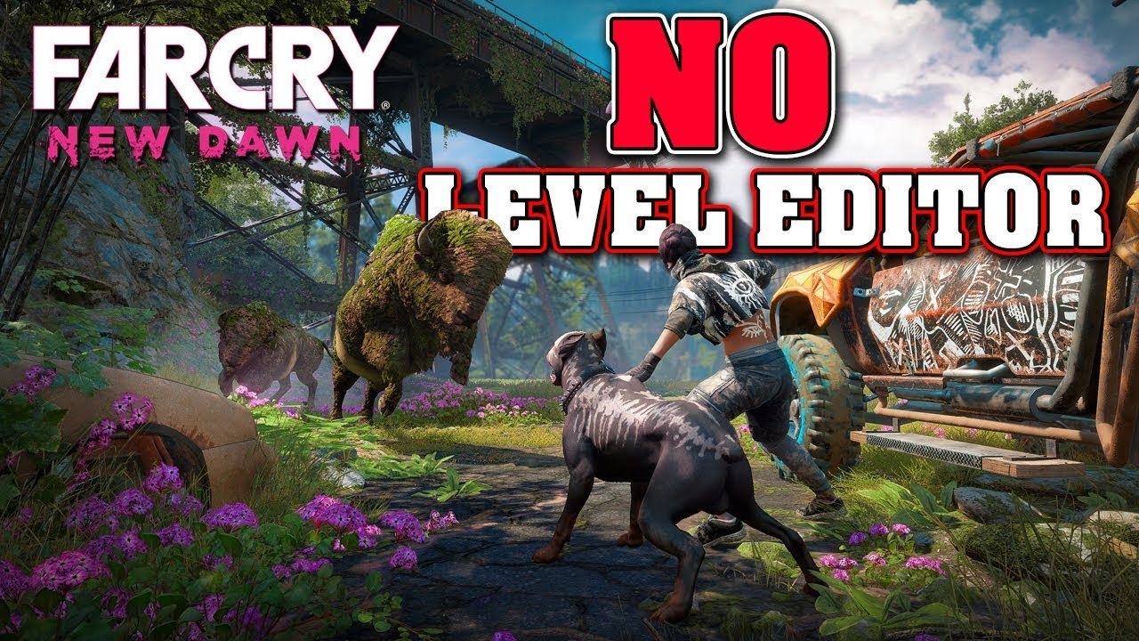 Far Cry New Dawn Revealed But No Arcade Level Editor Youtube