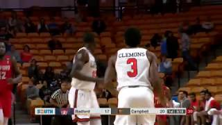 Campbell Men's Basketball vs Radford - 1/21/18