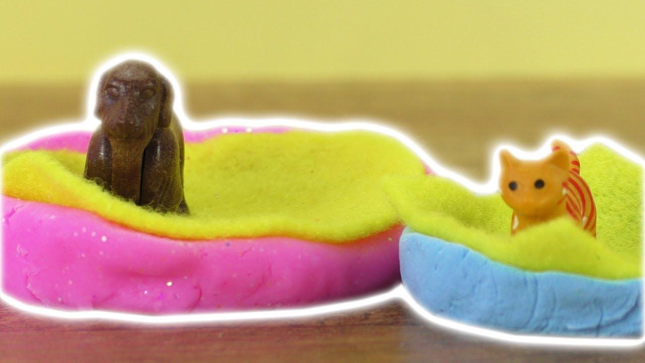 playmobil diy idee f r haustiere hunde katzen k rbe selber machen spiel idee kids youtube. Black Bedroom Furniture Sets. Home Design Ideas