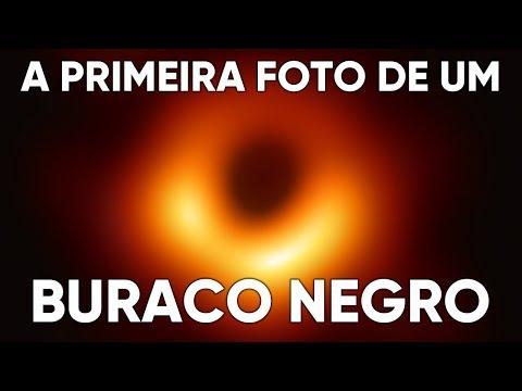 Essa é a Primeira Foto de um Buraco Negro