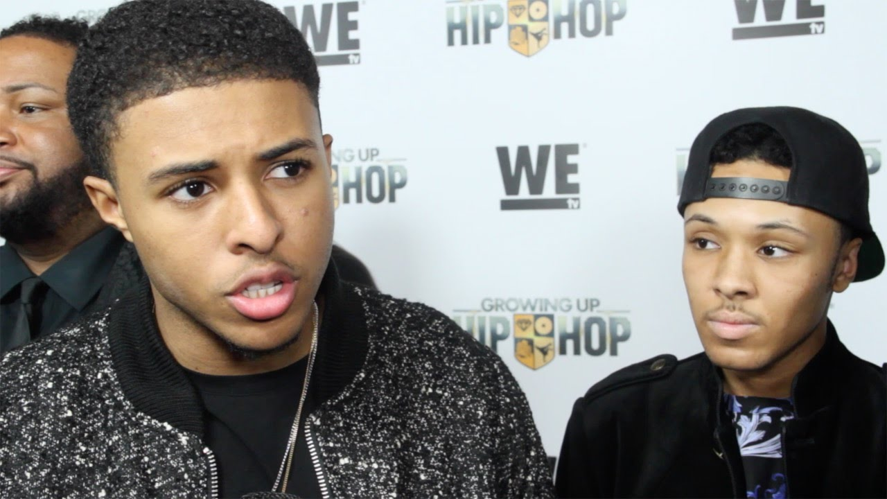 Russell Simmons Ii >> Diggy Simmons Russell Simmons Ii Interview Growing Up Hip Hop
