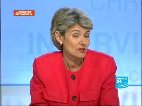 Irina Bokova, directrice générale élue de l