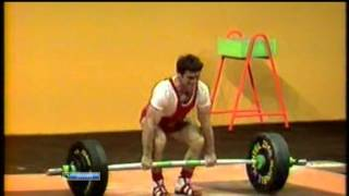Munich 1972 Summer Olympic Games Men 60 Kg Cl&Jerk