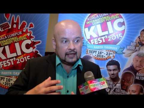 MeleTOP -  Sidang Media Kuala Lumpur International Comedy Fest Ep150 [15.9.2015]