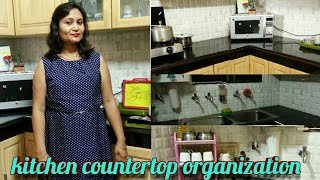 kitchen countertop organization,ideas for kitchen counter organization by anvesha,s creativity,