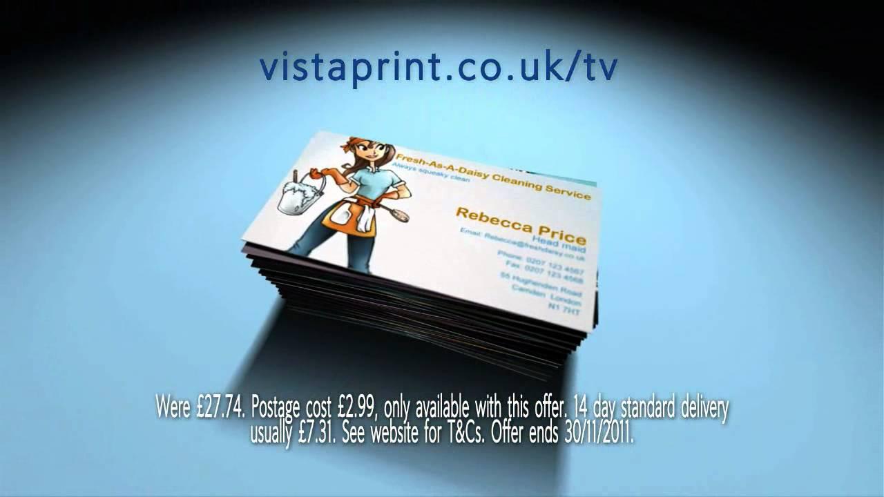 Vistaprint macho man business card tv ad youtube reheart Images