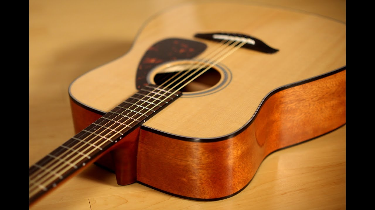 Yamaha Fg800 Acoustic Guitar Demo Youtube