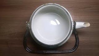 как почистить чайник от накипи за 5 минут!