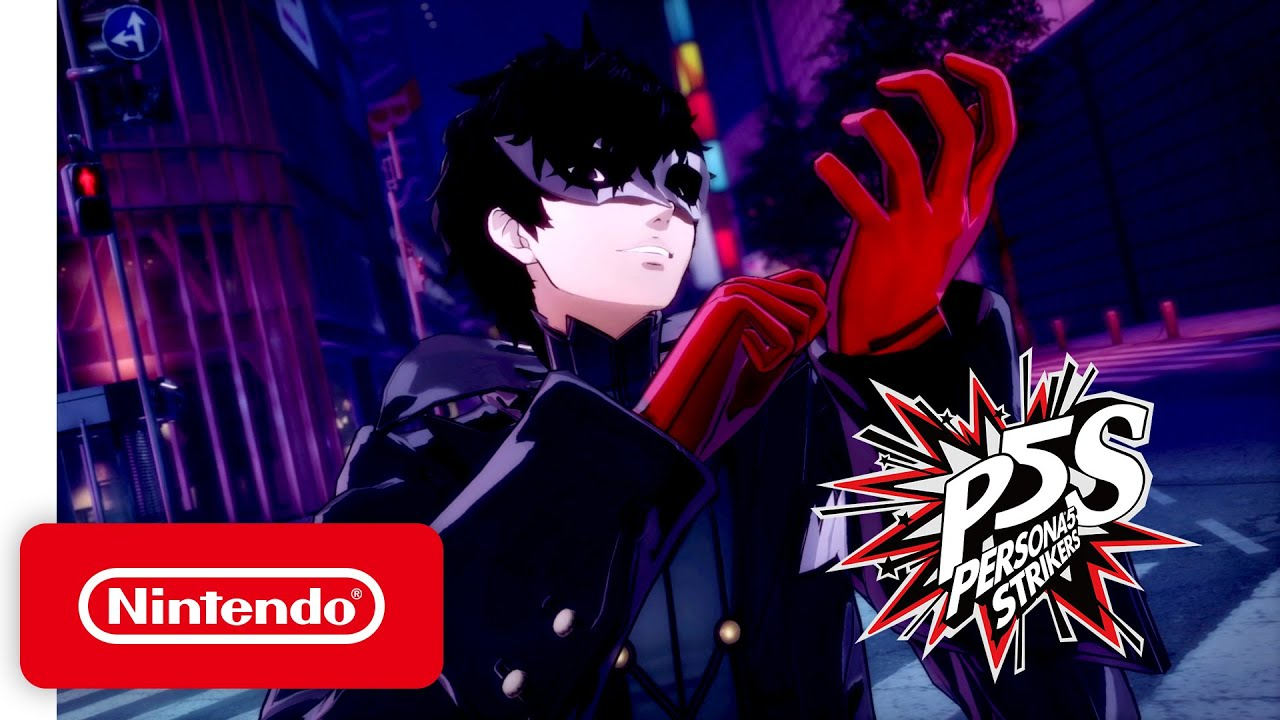 Persona 5 Strikers - Announcement Trailer - Nintendo Switch - YouTube