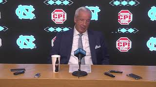 UNC Men's Basketball: Roy Williams Post Stanford Press Conference