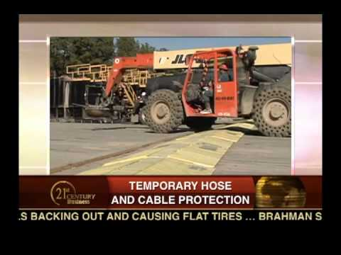 Brahman Systems - The New Safety Standard in Temporary Hose and Cable Protection on Road Crossings.