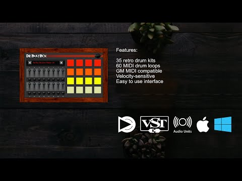 Dr  Beat Box 64-bit VST/AU plugin instrument for Windows and macOS