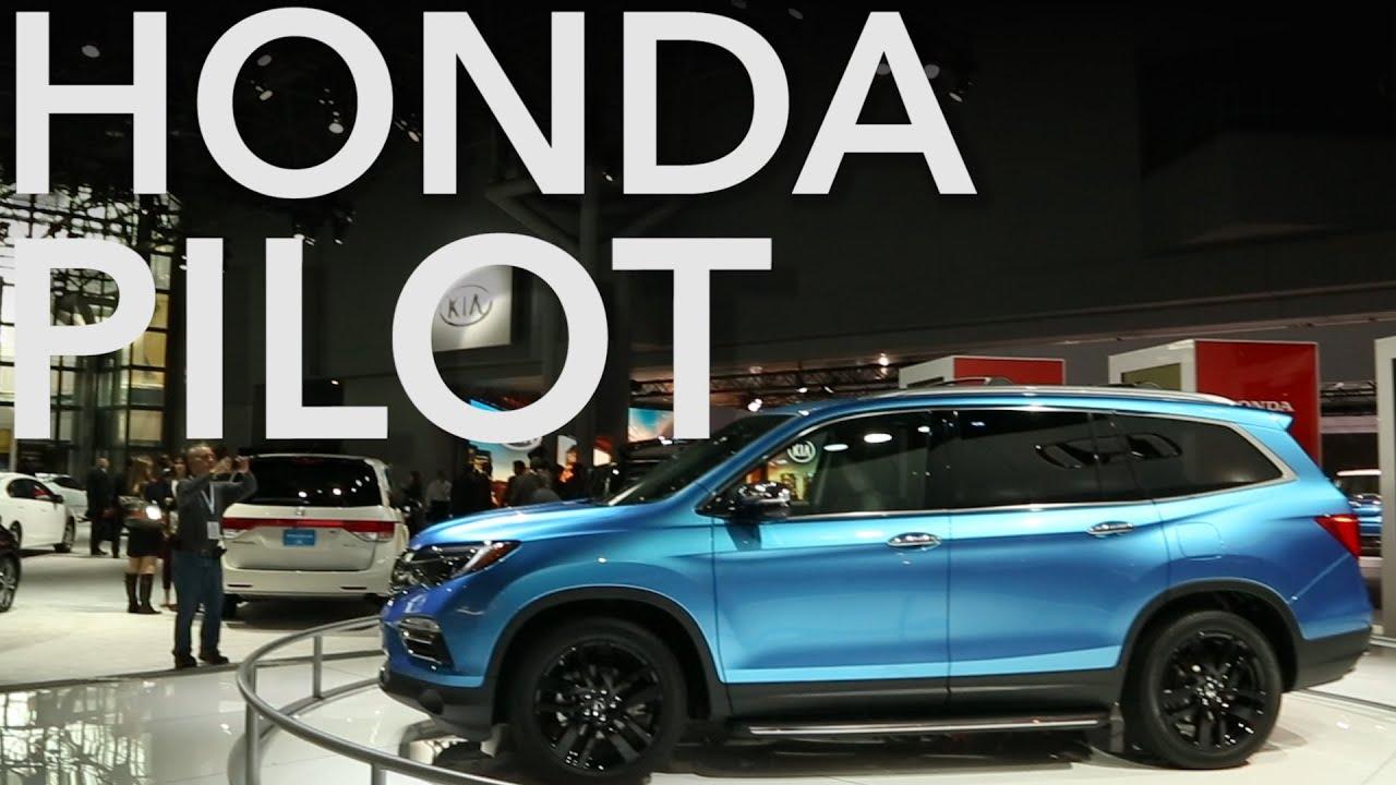 New Honda Pilot >> 2016 Honda Pilot Loses Boxy Design   Consumer Reports - YouTube