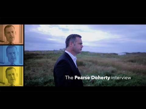 Pearse Doherty Interview  - A new economy for a new Ireland