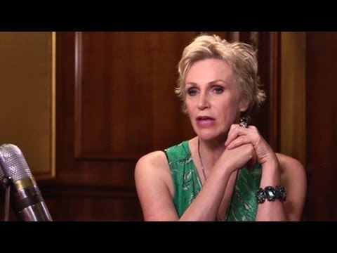 Divorce Is Hard Anytime: Jane Lynch On Separating From Her Wife  Larry King Now  Ora TV