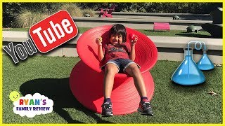 Kid Family Fun Board Game Night + Family Trip to YouTube Space LA with Ryan's Family Review