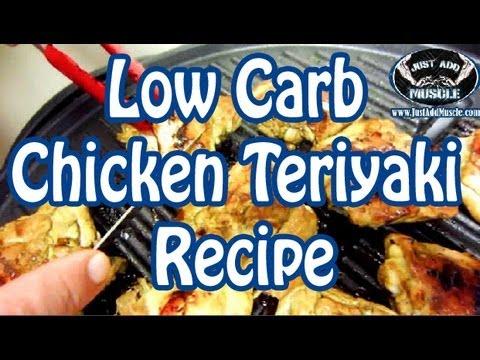 Low Carb Chicken Teriyaki  Recipe - Chicken Thighs - Keto - Keto Diet Recipes - Ketogenic