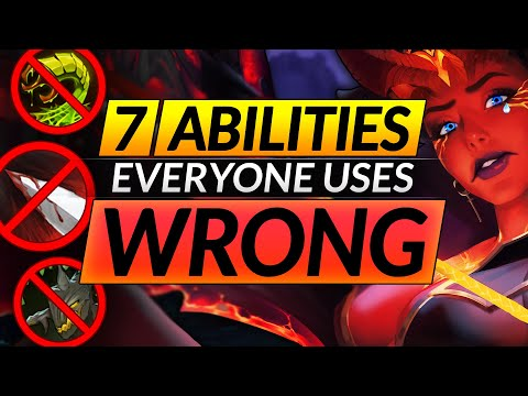 7 KEY ABILITIES Everyone Uses WRONG In Dota 2 - Mistakes You MUST STOP - Pro Tips And Tricks Guide