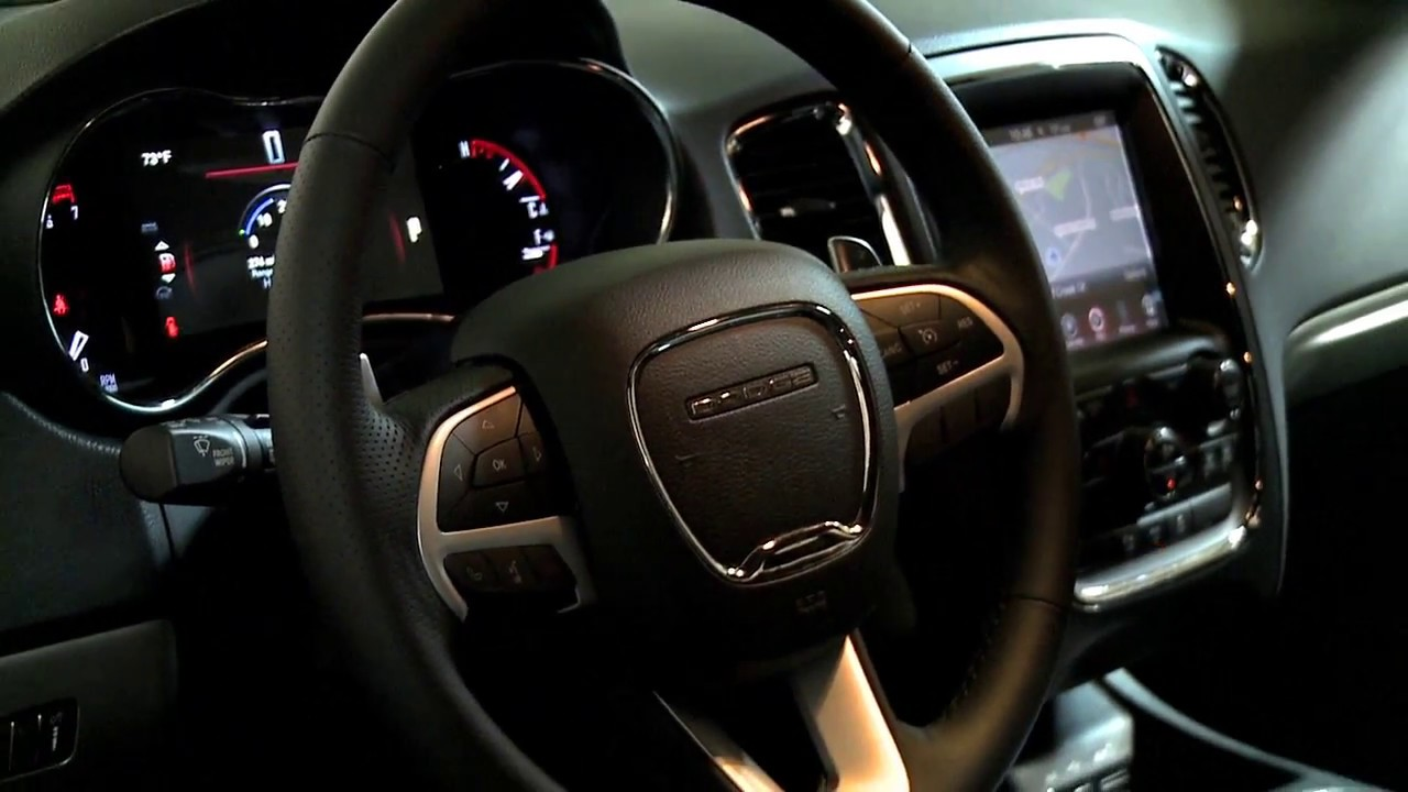 Dodge durango r t 2017 interior official video youtube - Dodge durango 2017 interior pictures ...