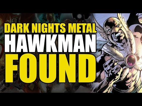 Dark Nights Metal Tie In: Hawkman Found